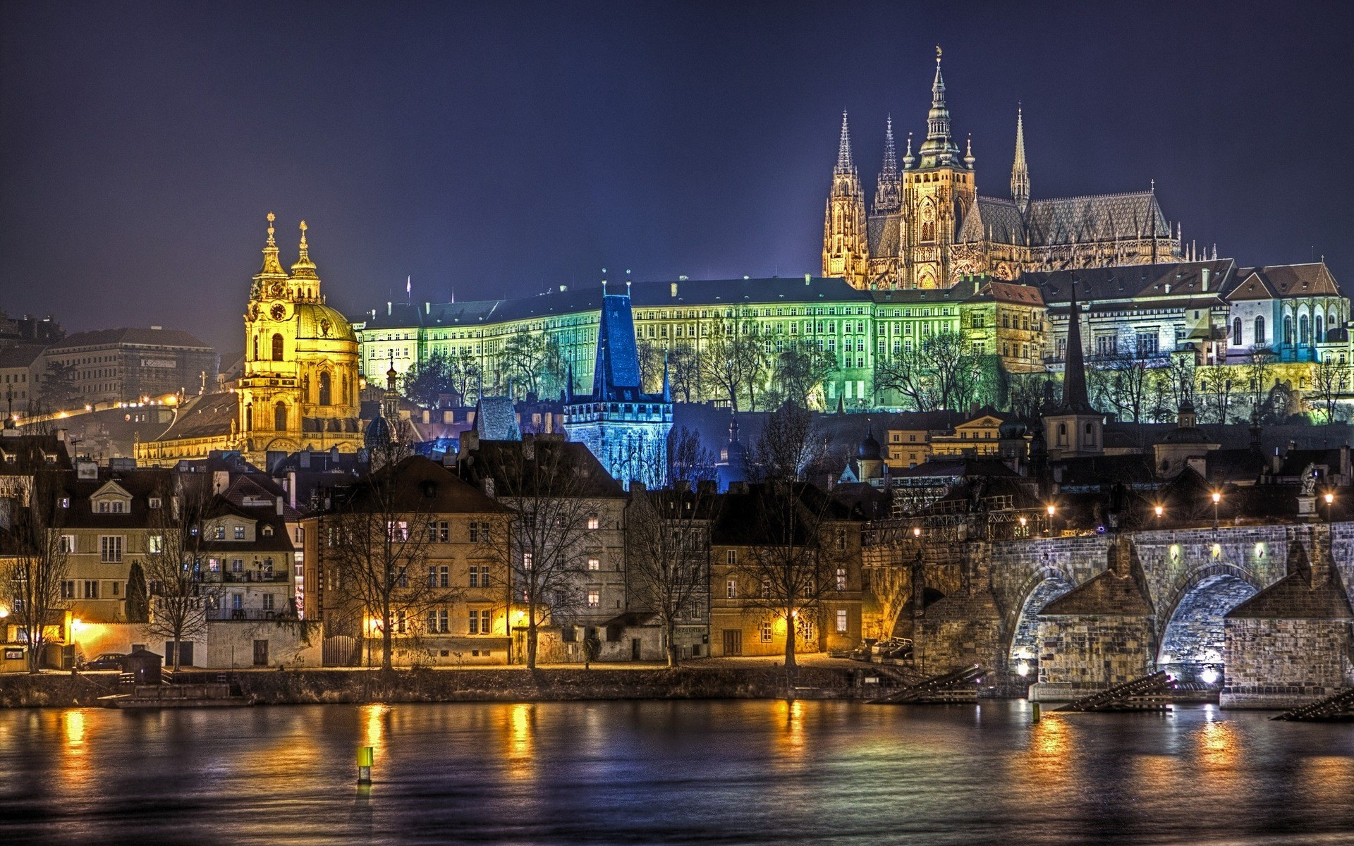 Charles Bridge, Prague - photo wallpapers high resolution