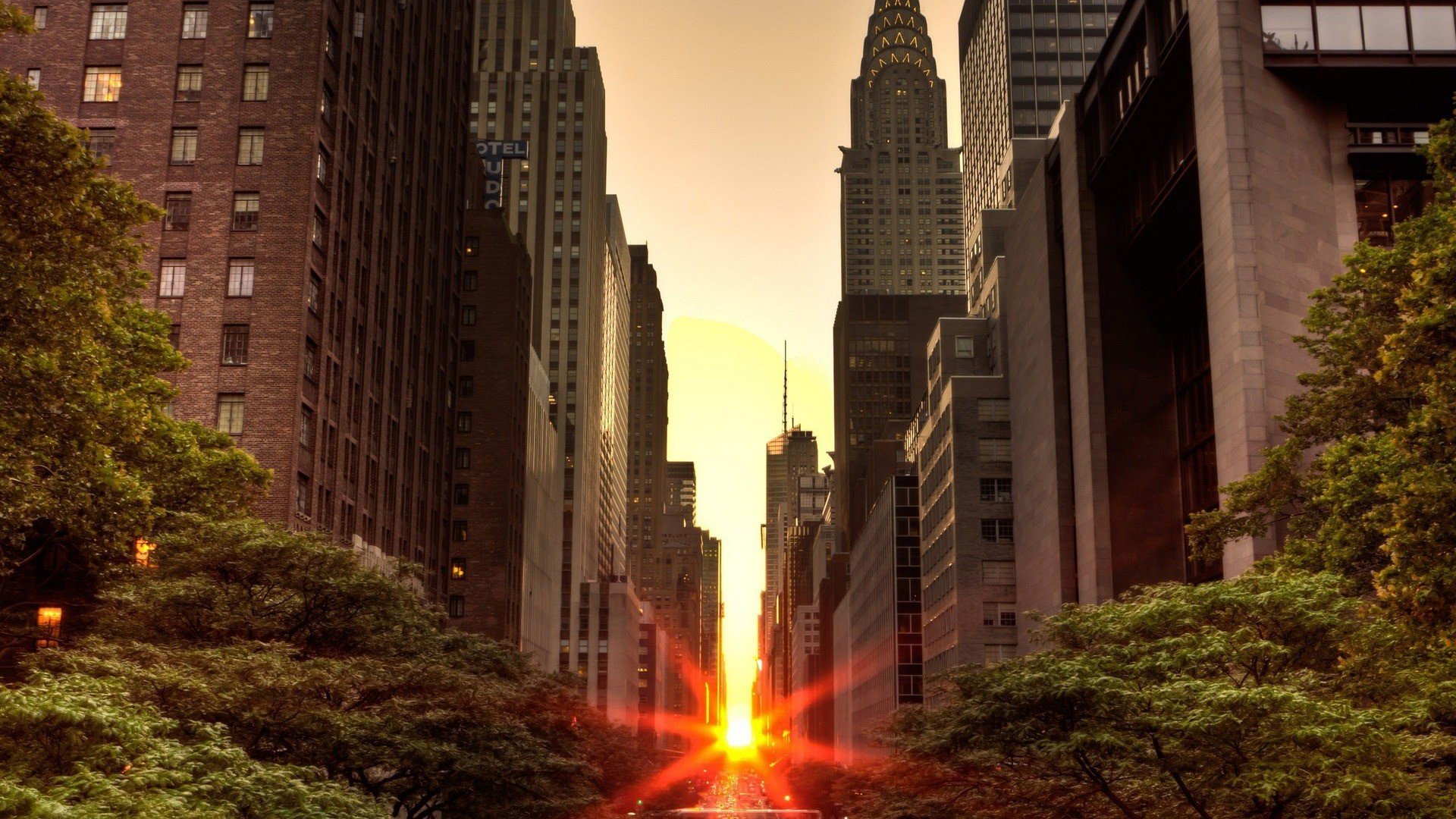 Set among the skyscrapers on the streets of New York